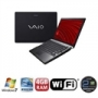 Notebook Vaio Preto C/ Intel I3-330m,4gb,500gb,13.3'',bluetooth,wireless,windows 7