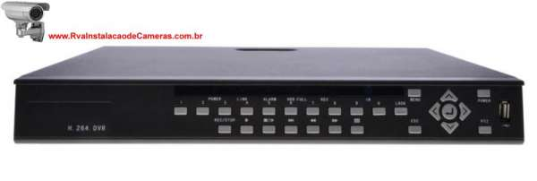 Dvr stand alone intelbras 16 canais (hdmi)