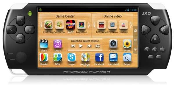 Game portátil e tablet jxd s602 - wi-fi - android 4.0
