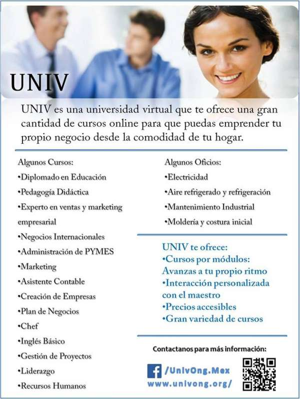 Universidade virtual internacional procura professores