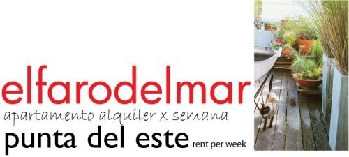 Apartamento alquiler x dia o por semana punta del este uruguay