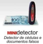 Mini detector de notas falsas e documentos
