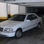 Vendo Mercedes C 280 elegance, 95, branca, blindada, impecável