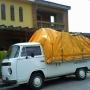 Kombi pick-up (carroceria de madeira)