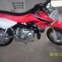 Mini Moto crf Vermelha