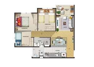 Fotos de Apto vila formosa 2 ou3 dormitorios -otimo preço 4
