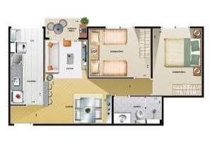 Fotos de Apto vila formosa 2 ou3 dormitorios -otimo preço 3
