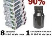 KIT RECARGA DE CARTUCHO OU BULK INK