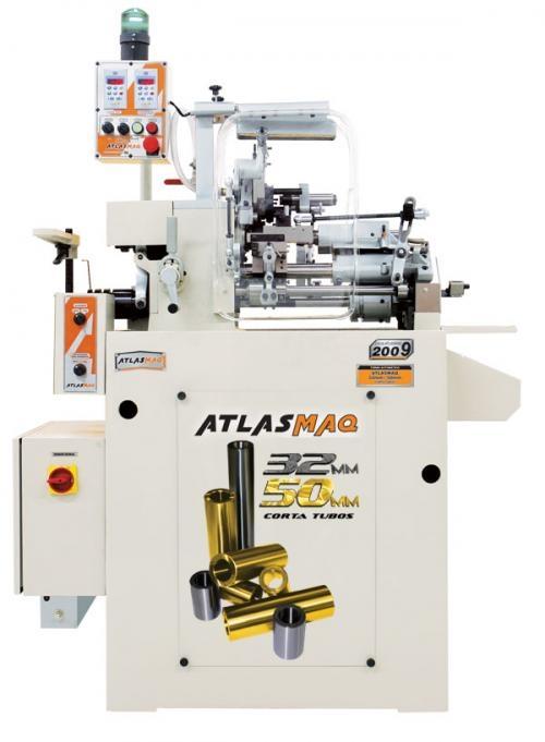 Torno automatico atlasmaq 32mm / 50mm corta tubos