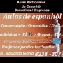 Aulas particulares de espanhol * e s t r a t é g i c o *