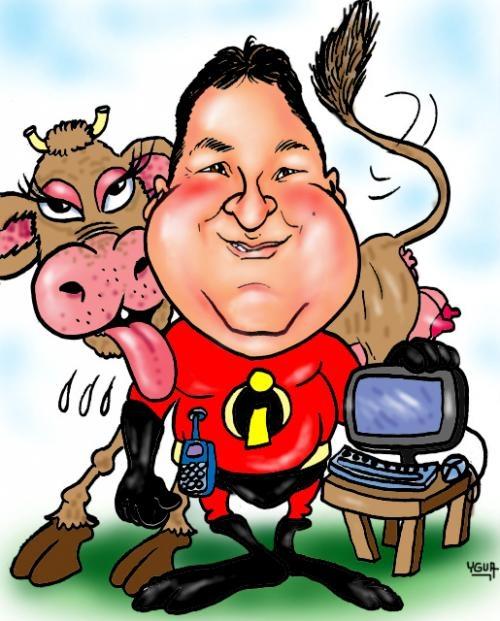 Caricaturas por e-mail para todo brasil- faça sua encomenda-