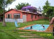 Sitio com piscina temporada