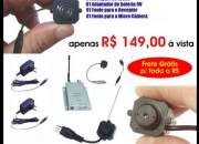 Micro câmera colorida sem fio apenas r$ 149,00