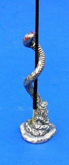 Incenssario serpentede mesa/parede