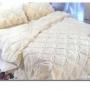 Cobertor dupla face em PLVM (Pura Lã Virgem de Merinos),