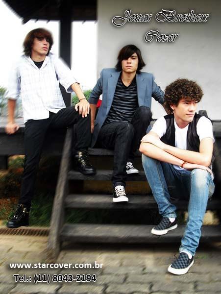 Jonas brothers cover (11) 8043.2194 o grupo nº1 os mais parecido