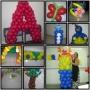 Curso de decoração com bolas