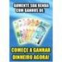 VOCÊ GOSTARIA DE GANHAR DE R$250,00 R$500 REAIS POR SEMANA!