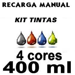Kit tinta recarga manual