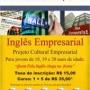 Inglês Empresarial para jovens 18 a 20 anos