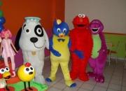 Personagens Doki, Fifi e os Floriguinhos, Barney, Charlie e Lola