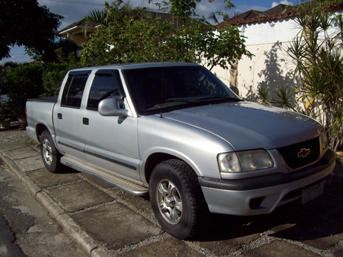 Fotos de Pick up gm cabine dupla s10 prata  99 1