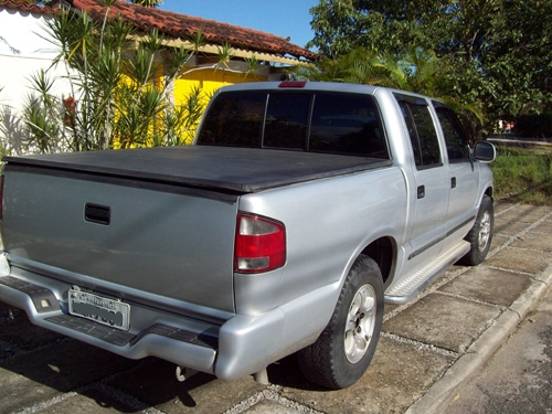 Fotos de Pick up gm cabine dupla s10 prata  99 2