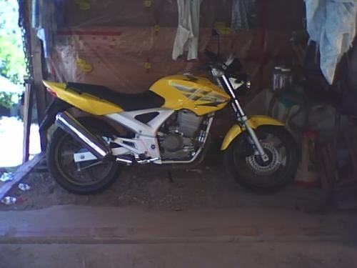 Cbx twister 250cc