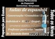Aulas de espanhol ( Professor nativo)