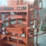 Maquina para fabricar blocos de concreto estrutural Soirman