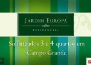 Lançamento Jardim Europa - Apartamentos na Rua Olinda Ellis