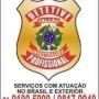 DETETIVE PARTICULAR FALCAO PROFISSIONAL NIVEL ESPECIALIZADO BRASIL