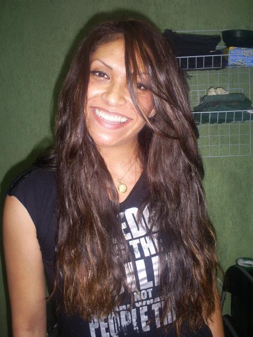 Thaty alongamento de cabelos