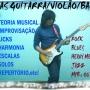 Aulas de Guitarra,Violão e Baixo em Santo André ABC -sp