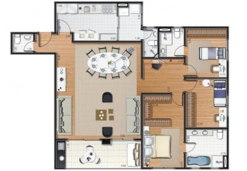 Fotos de Lindo apartamento a venda na vl são francisco 3
