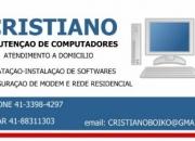 MANUTENCAO DE COMPUTADORES A DOMICILIO
