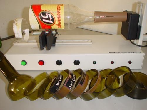 Cortador de garrafas de vidro - faça copos,taças, vasos...