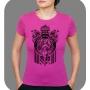 Camiseta baby look feminina ilustrada/ppg - diversar estampas e modelos.