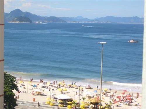 Fotos de Aluguel temporada praia de copacabana, studio vista para o mar 4