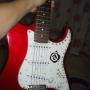guitarra + capa + amplificador + cabos