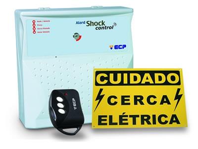 Cerca elétrica alard shock control