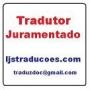 Tradutor juramenado