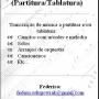 Transcritor de Música (Partitura/Tablatura)