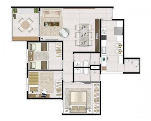 Lançamento vila prudente 82m2 - ettore living