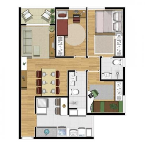 Fotos de Apartamentos 2 dormitorios 70m² - valparaiso 3