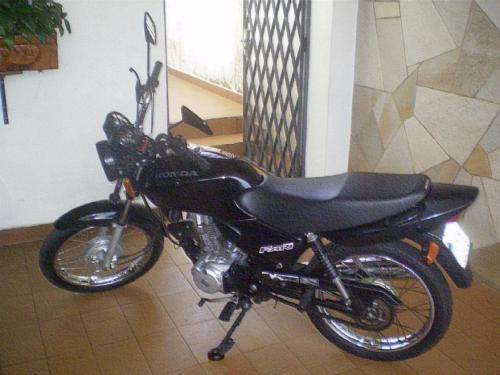 Honda cg 125 fan, cor: preta, ano/mod 2008/2008, km 20.000 placa: dww-5985.