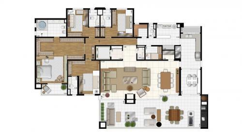 Lançamento apartamento moema 335m² e 630m² - hemisphere ibirapuera