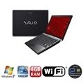 Notebook Vaio Preto C/ Intel I3-330m,4gb,500gb,13.3'',bluetooth,wireless,windows 7