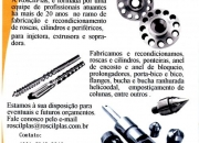 Roscas e cilindros/roscilplas
