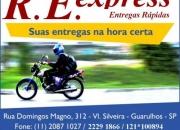 Motoboy guarulhos - r.e. express 11-2229 1866